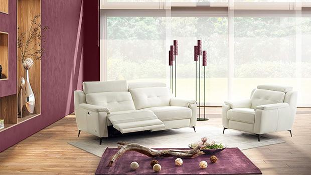 Canapé relaxation électrique Kilian